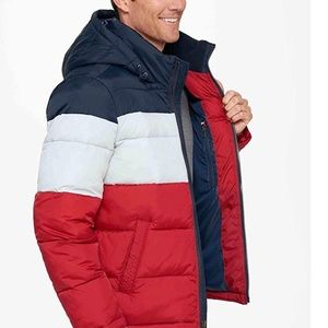 767a885fcbef Tommy Hilfiger Jackets   Coats - Tommy Hilfiger Men s Classic Hooded Puffer  Jacket